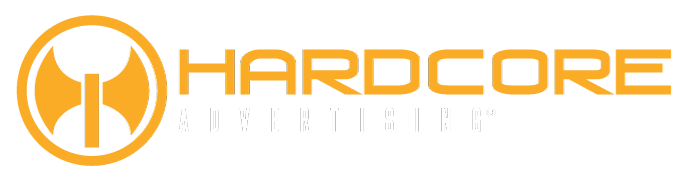 Hardcore Advertising Footer Logo
